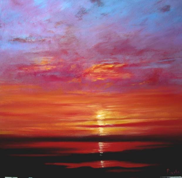 Sunset Paintings Wendy-puerto