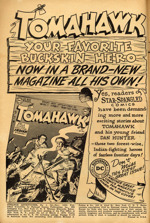 Strange Adventures (1950) issue 2 - Page 2