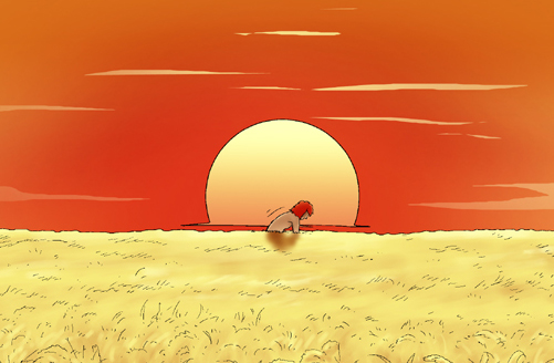 Kim Chi & Củ Cải (bộ mới) phần 245: Cánh đồng lúa chín