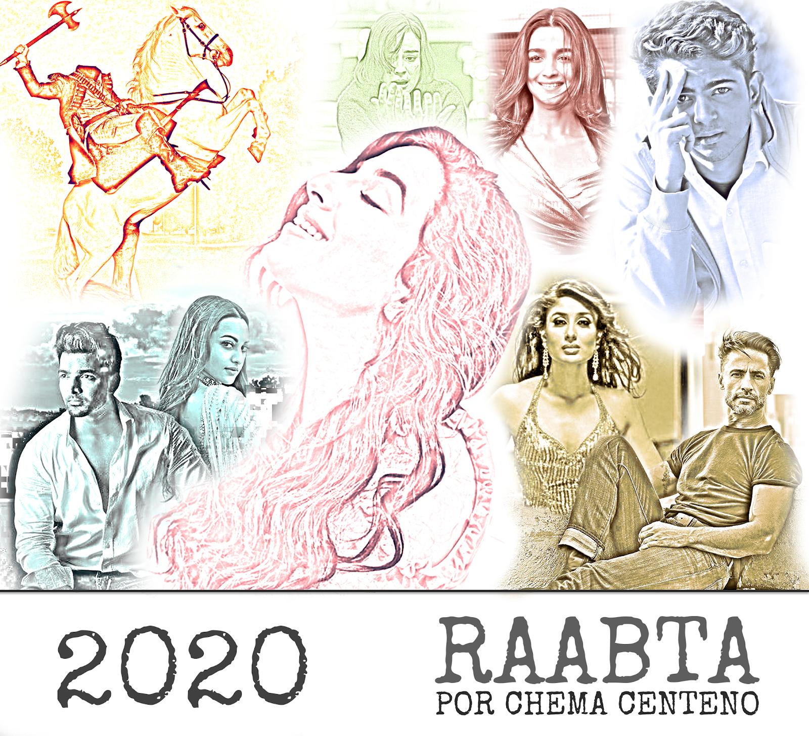 Recordando las webpelículas/miniseries más populares de estos 6 años en PG Raabta_Oficial_Poster1_v2
