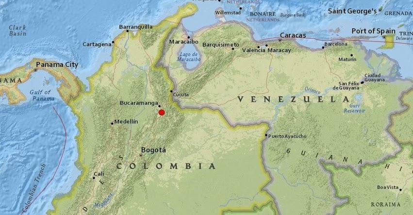 Temblor en Colombia de Magnitud 5.2 (Hoy Sábado 21 Septiembre 2019) Terremoto - Sismo - Epicentro - Los Santos - Santander - Bucaramanga - En Vivo Twitter - Facebook - www.sgc.gov.co