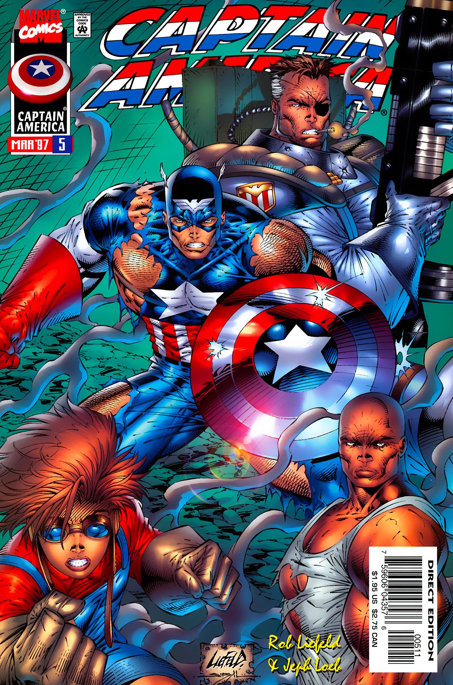 Captain America (1996) Issue #5 #5 - English 1