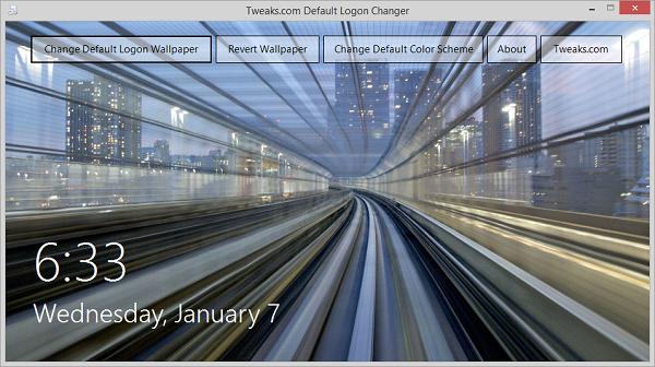 Tweaks Logon Changer Free Download
