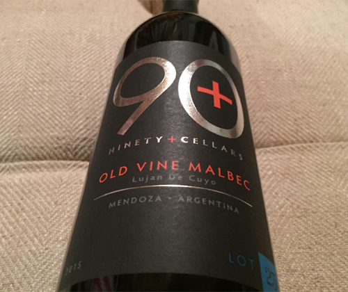 90+ Cellars Lot 23 Mendoza Malbec 2015
