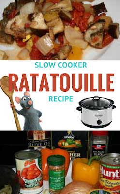 Ratatouille, or vegetable stew, is a fantastic way to put LOTS of vegetables into your diet. This can be either a main course, or a side dish, it's your choice! Great use for the crockpot slow cooker and is naturally gluten free.