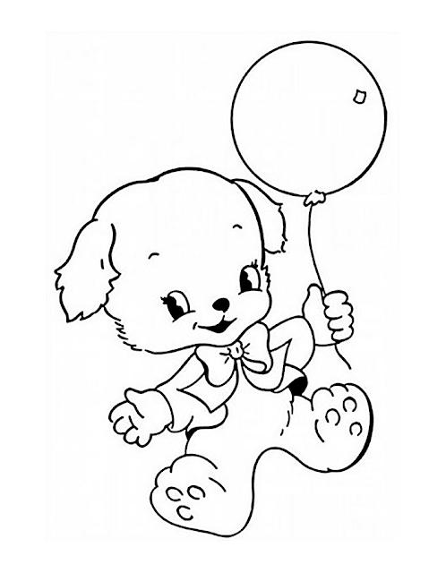 Gambar Mewarnai Balon - 3