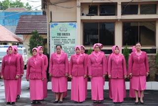 Kapolres Cirebon Kota Pimpin Upacara PHI ke 90