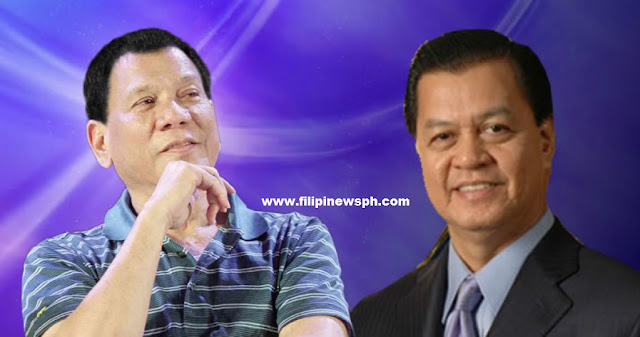 Noli De Castro reportedly endorses Mayor Duterte