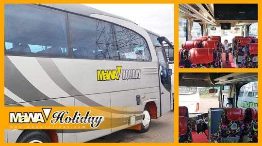 Bus Pariwisata Bandung Paling Nyaman dan Aman