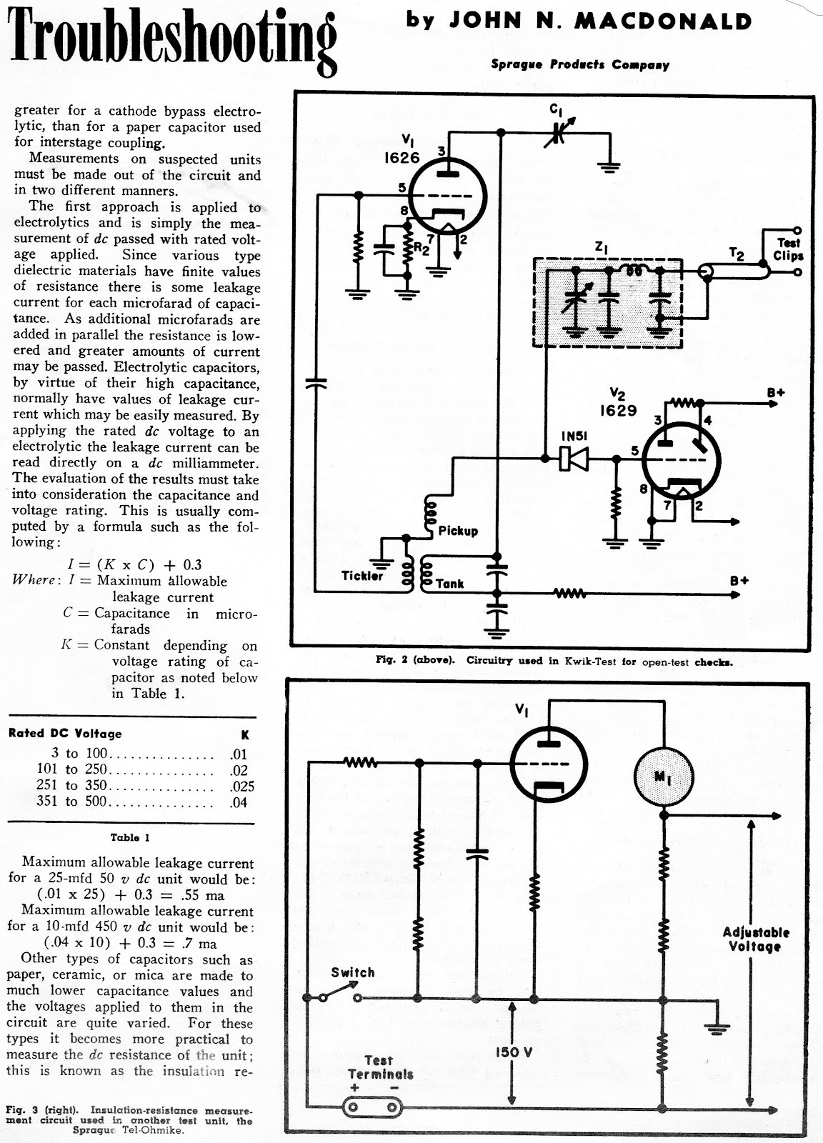 Judybox Revival Capacitor Troubleshooting