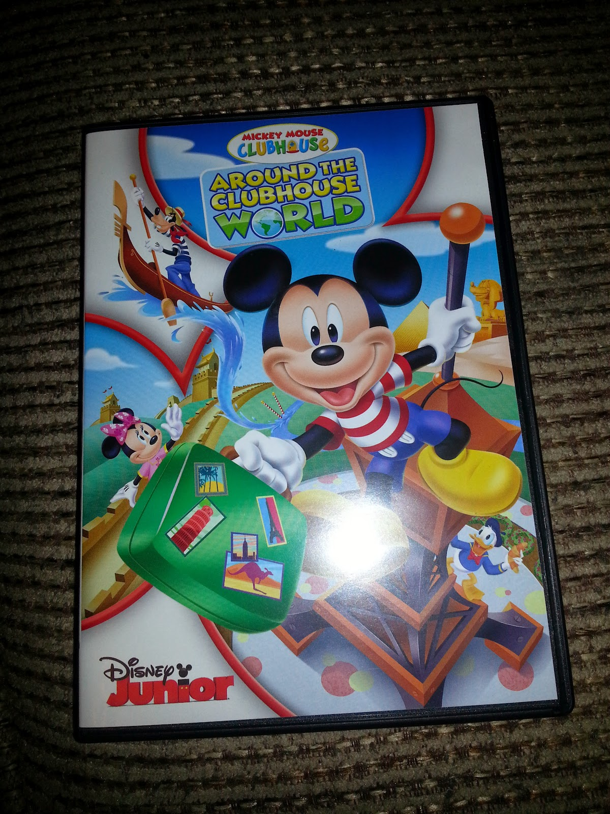 Mickey Mouse ClubHouse- Around the ClubHouse World DVD # ...