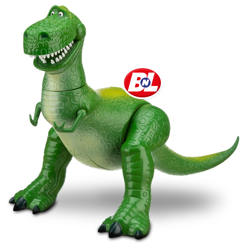 """WELCOME ON BUY N LARGE: Toy Story: Talking Rex Figure - 12"""" H"""