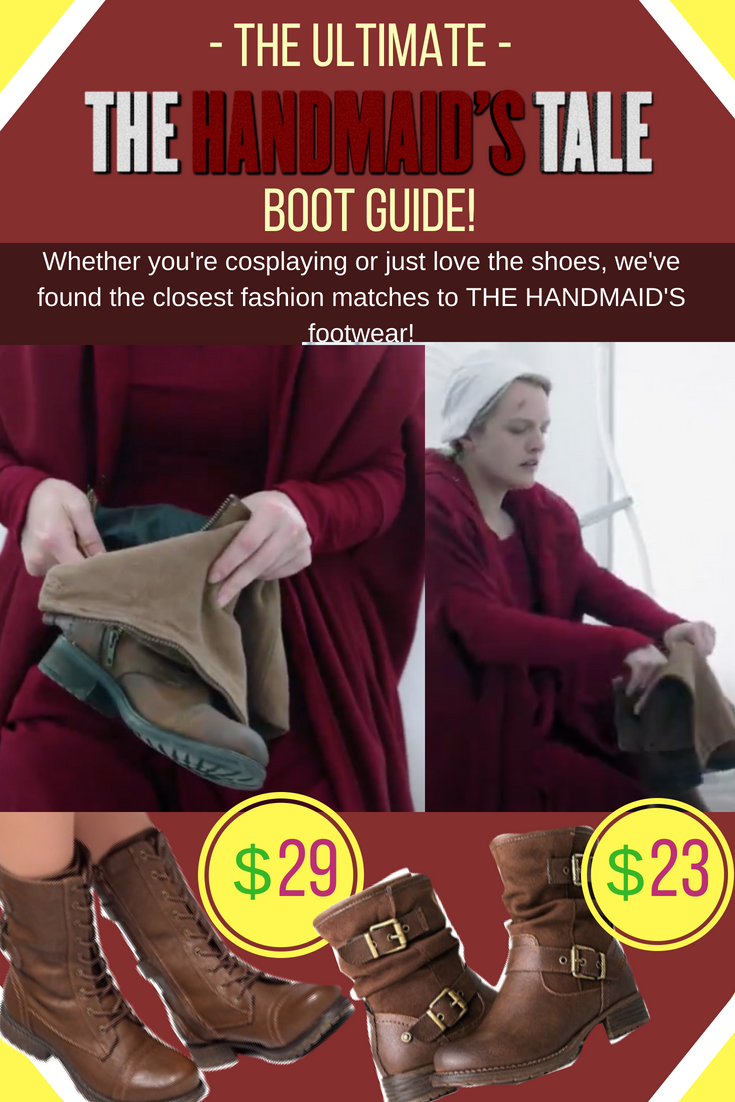The Handmaids Tale Boots Amp Shoes The Ultimate Guide To