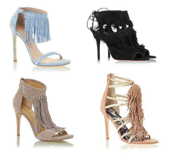 Fringe Heels Simply Ana Fashion Influencer Amp Blogger