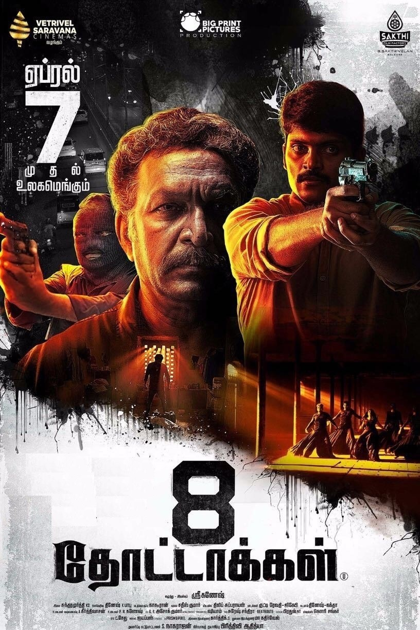 8 Thottakkal (2017) Hindi Dual Audio 450MB UNCUT HDRip 720p HEVC x265 ESubs
