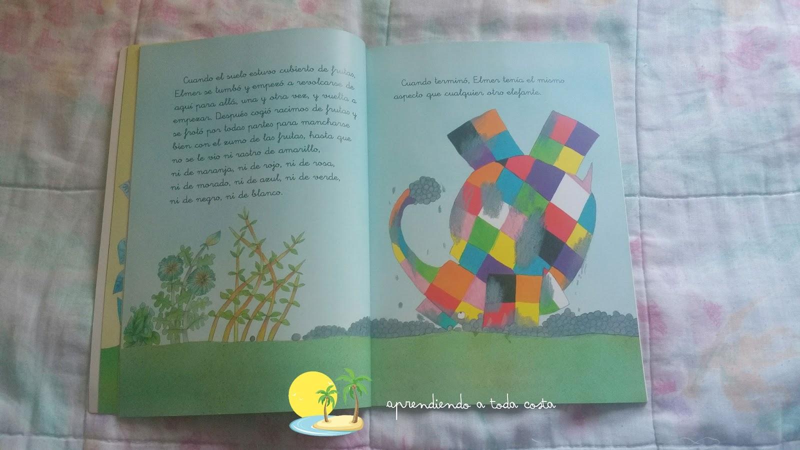 Elmer, el elefante que te enseñará la importancia de ser tú mismo