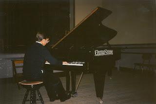 Piano Recital by Patrício da Silva, Santarém, 1988