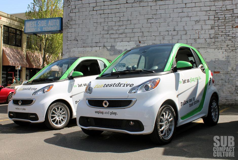 2017 Smart Fortwo Electric Drive In Portland Oregon