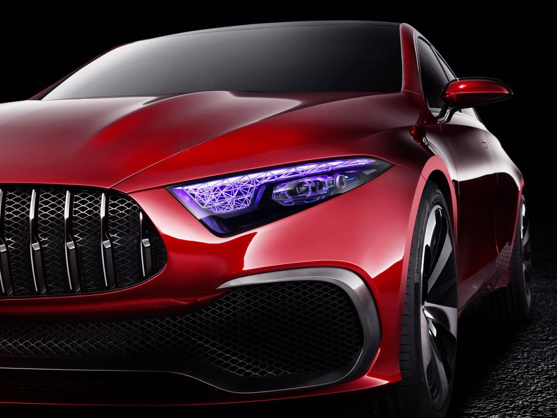Mercedes-Benz Concept A Sedan Previews Future Compact Cars