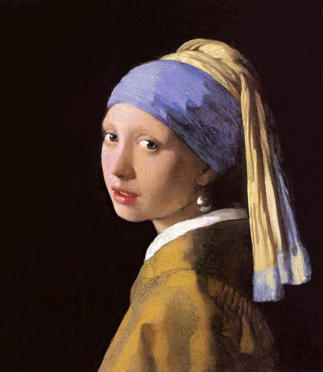 """Hella Heaven: """"Girl with a pearl earring"""" must be known ..."""