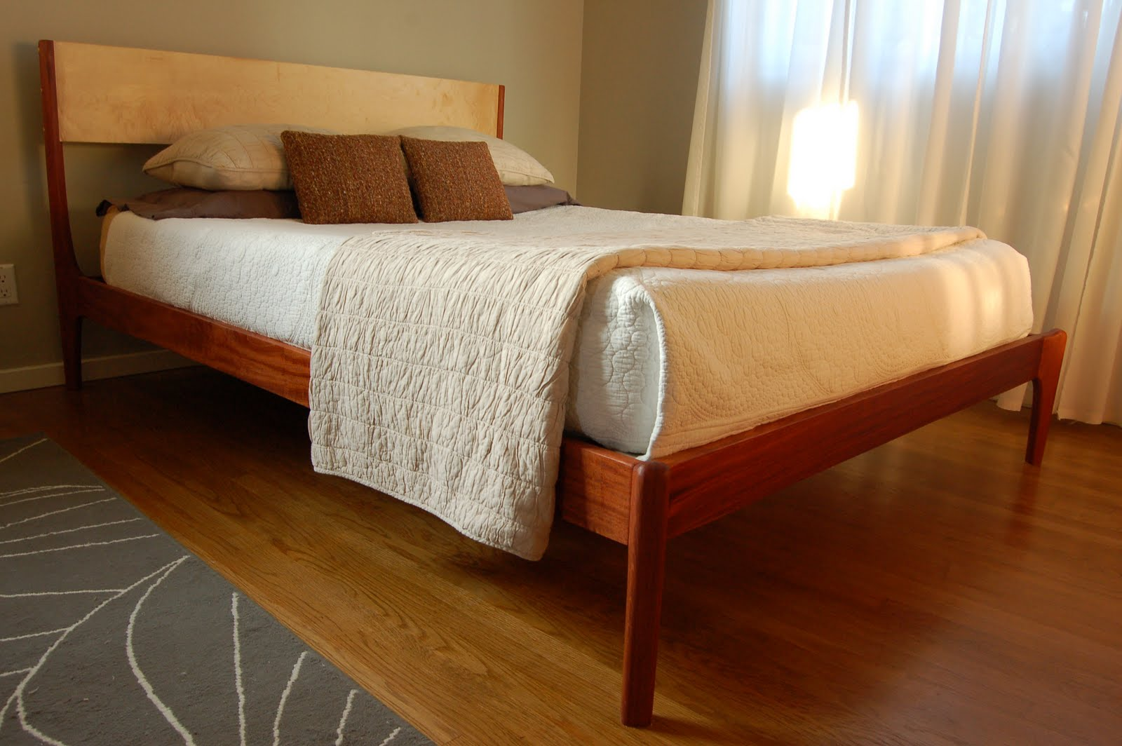 Furniture By Pete Danish Modern Style Bed