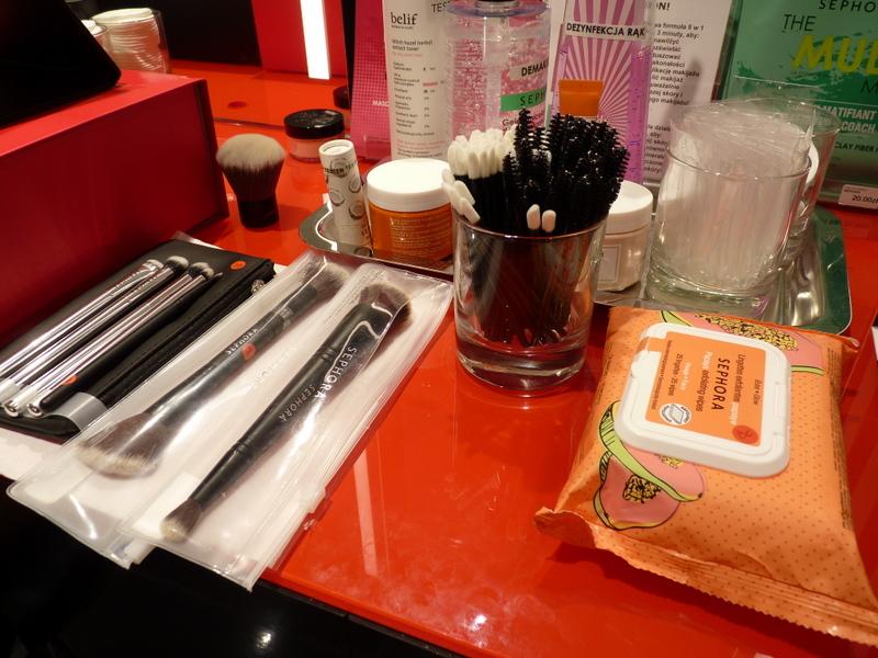Sephora warsztaty makijażowe