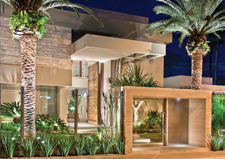 Fachadas de casas lindas e de diferentes estilos veja - Entradas casas modernas ...