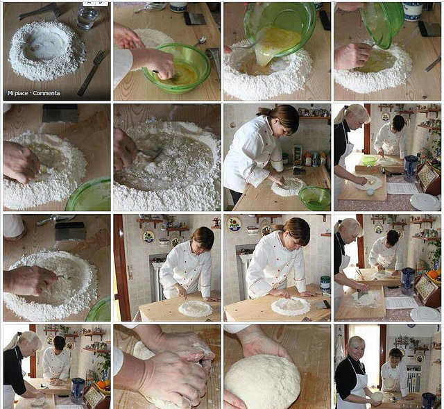 Bread Class at Mama Isa's Cooking School in Venice area Italy