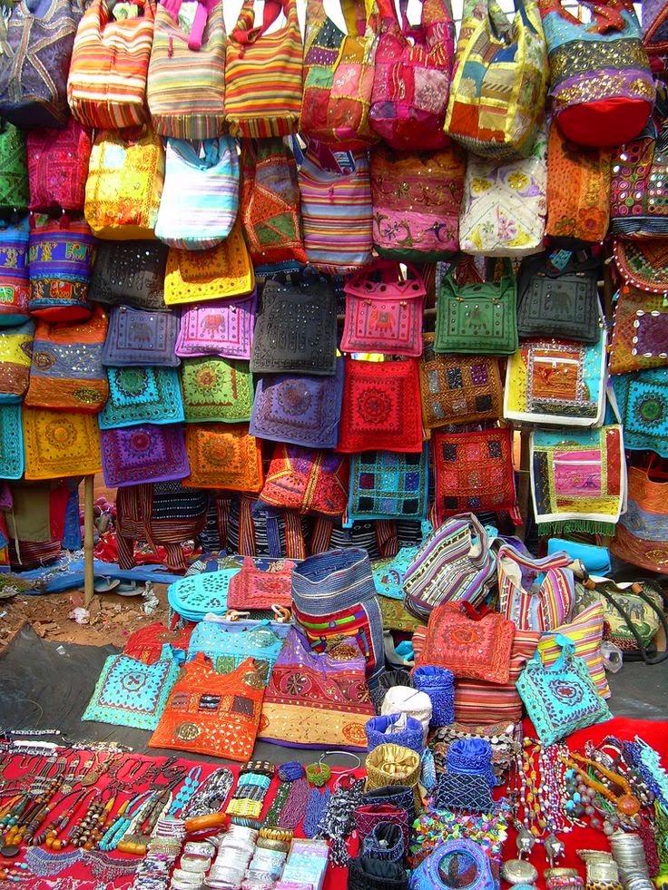 10 Best Backpacking Destinations in India | India Goa Anjuna Flea Market