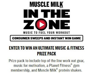 Coupons And Freebies: Muscle Milk Instant Win Giveaway - 397 ...