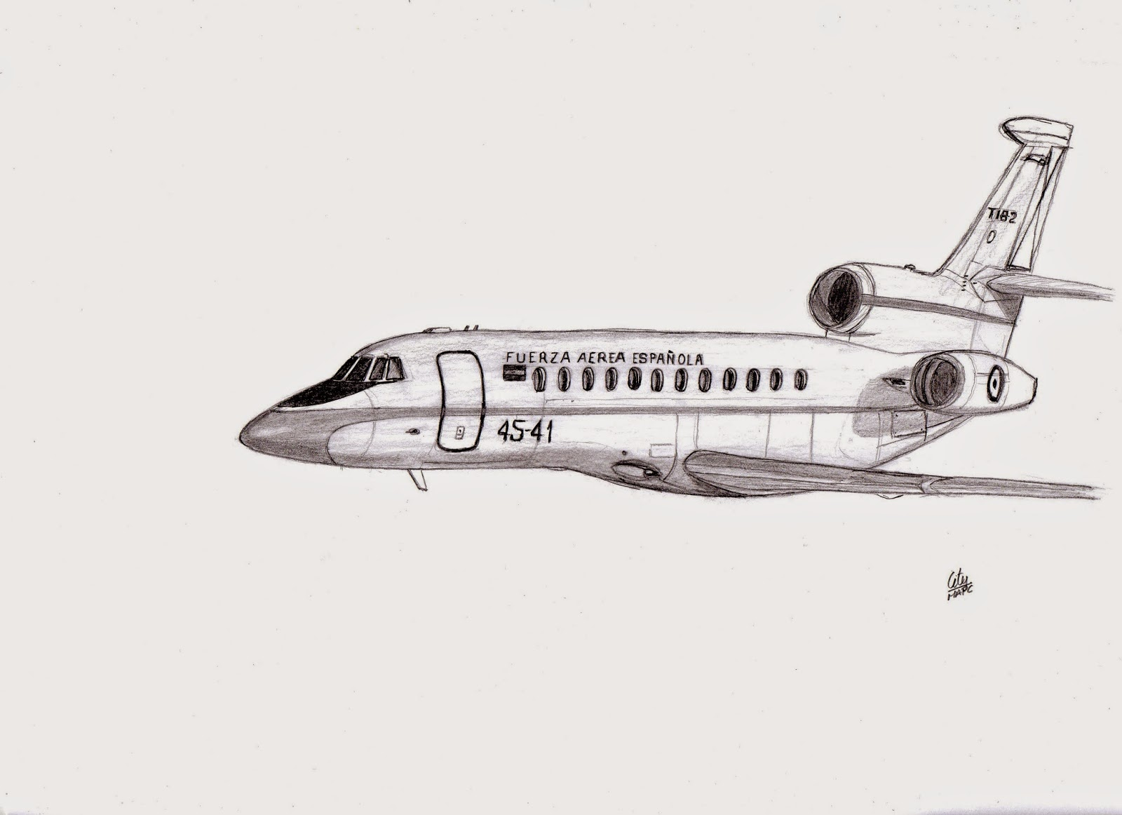 Dassault Falcon 900B. Grupo 45 de Fuerzas Aéreas. T.18-2