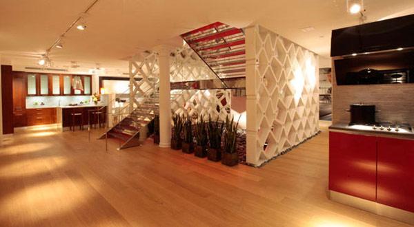 Hogares frescos hecha a la medida escalera fontanot for Escaleras de sala