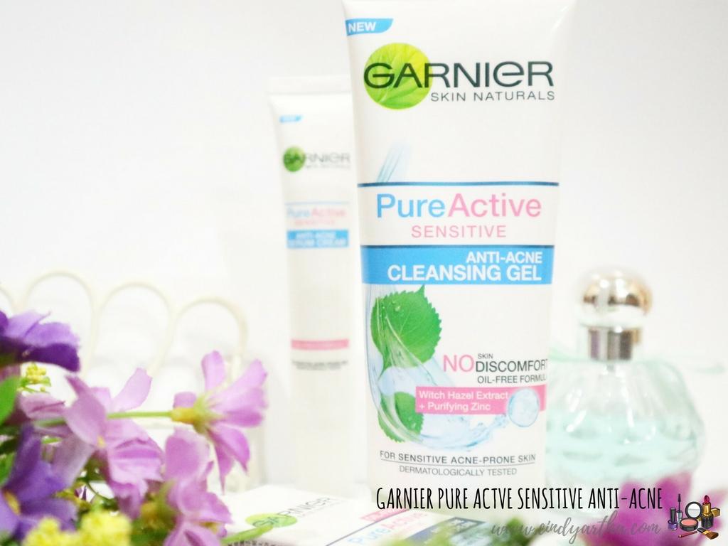 Cara Merawat Kulit Sensitif Dan Berjerawat Dengan Garnier Pure Active Sensitive Beauty Lifestyle Journals