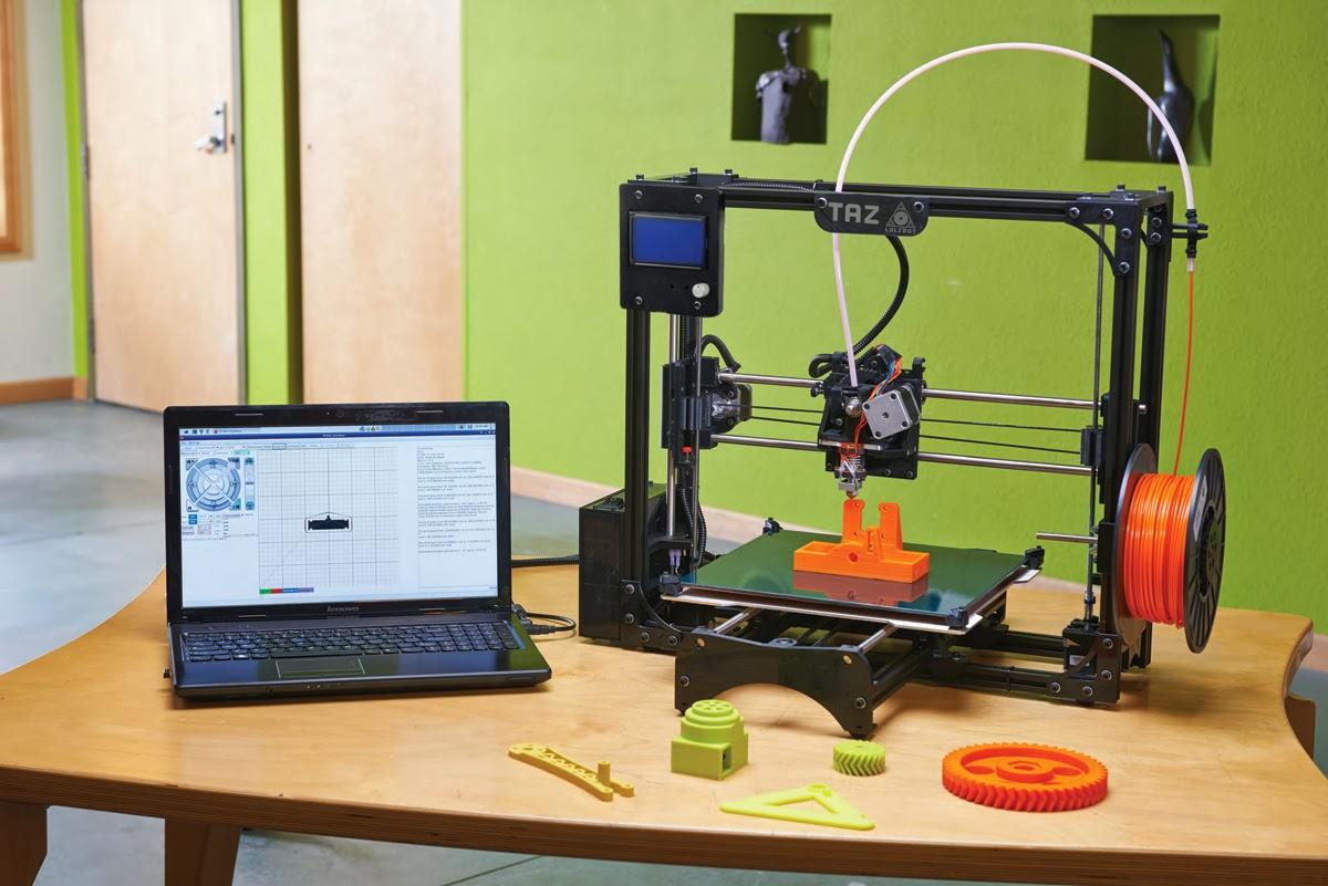 Home 3d Design Software Diy 3d Printing Lulzbot Taz 2 3d Printer
