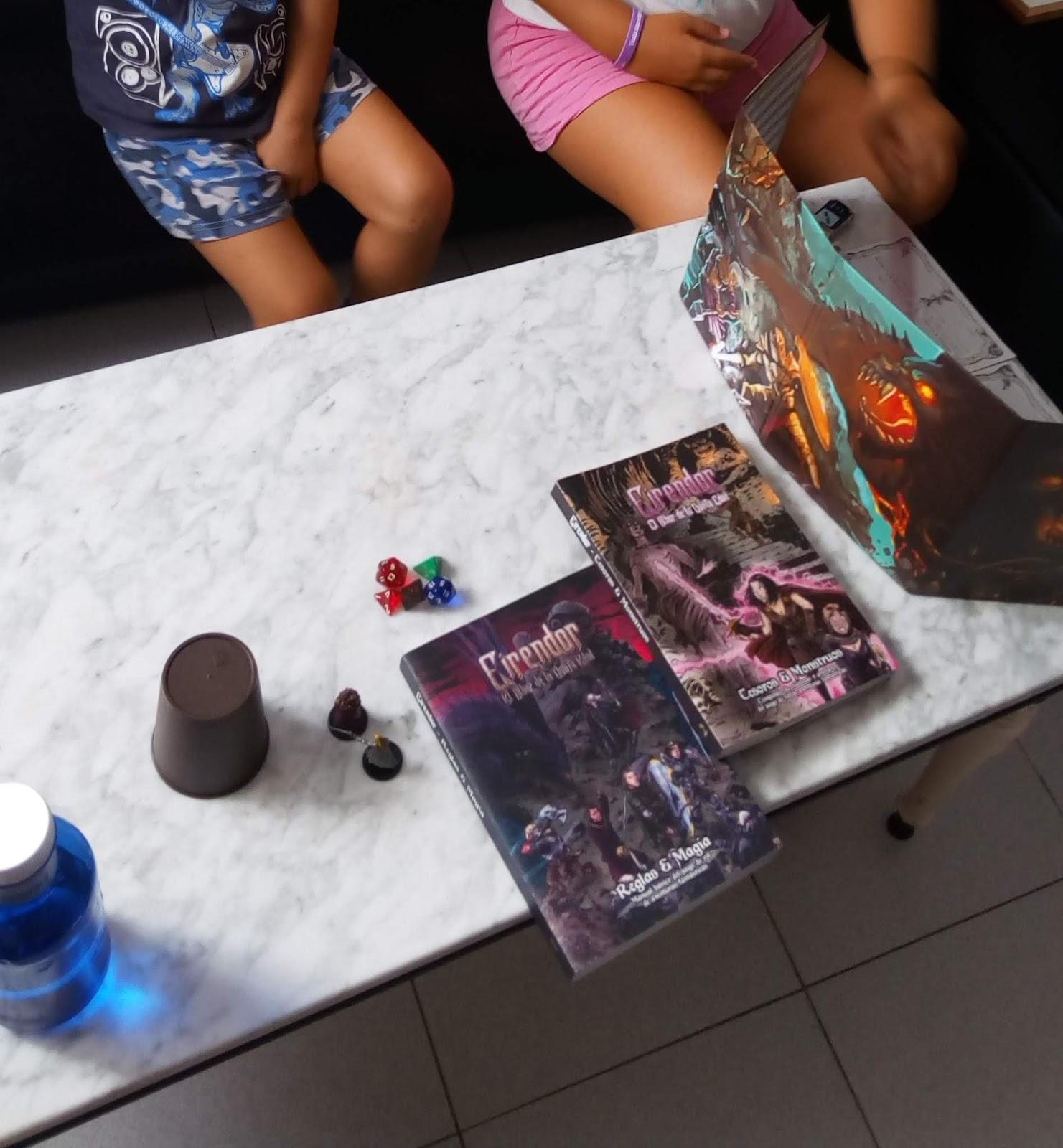 Jugando con tus hijos pequeños a Eirendor - D&D 5e