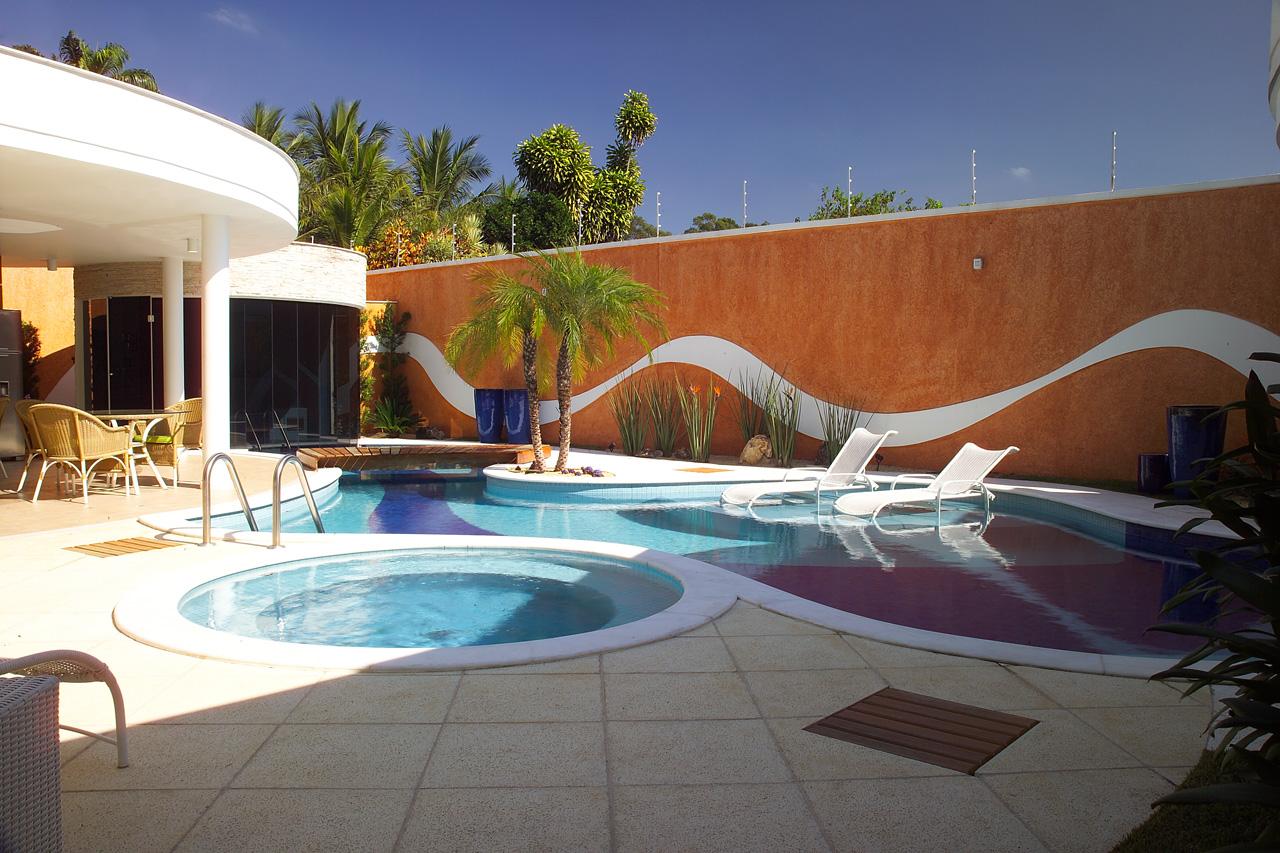 Casa com piscina bom demais aroma e artesanatos for Piscina in casa