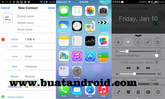 Tips Cara Merubah Tampilan Android Menjadi iPhone Terbaru