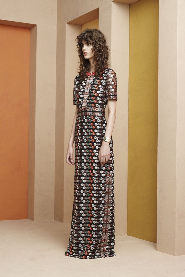 Tory Burch 2016 Resort Maxi Dress