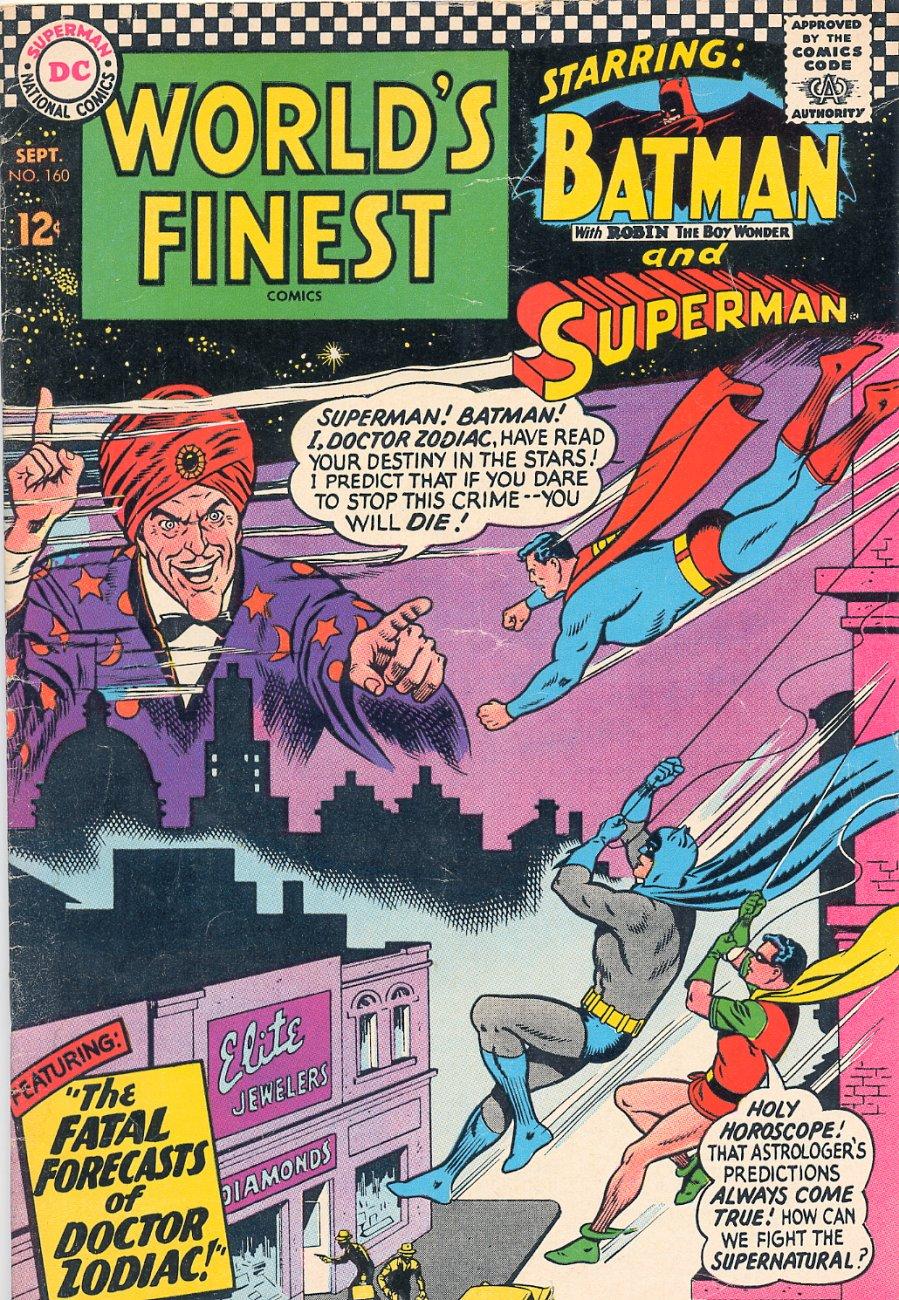 Read online World's Finest Comics comic -  Issue #160 - 1