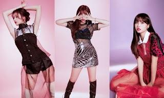 Foto Seksi Anggota TWICE Pakai Gaun Transparan di Teaser Individual  'Yes or Yes'