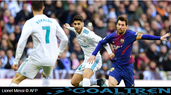 """alt=""""Lionel Messi also contributed one goal in this match. La Pulga scored"""""""