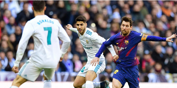 This is what Ronaldo said to Messi after Derbi El Clasico