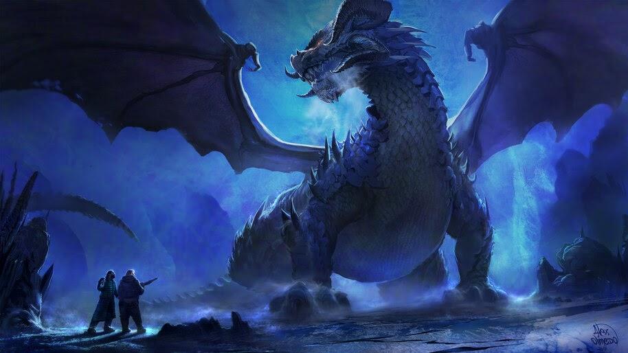Dragon, Fantasy, 4K, #4.1047