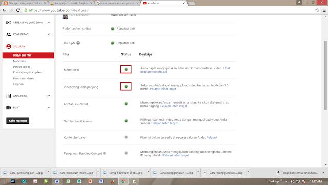 cari uang melalui youtube