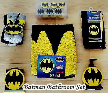 Batman bathroom set