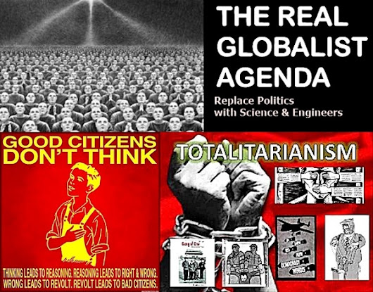Intro to Fatouros Post on Mass Acceptance of Globalist Totalitarianism