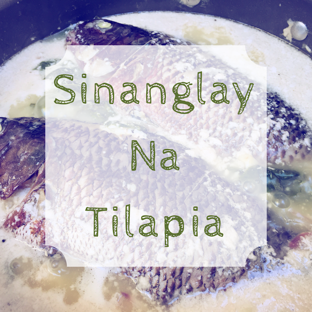 TSMCooks: Sinanglay na Tilapia Recipe