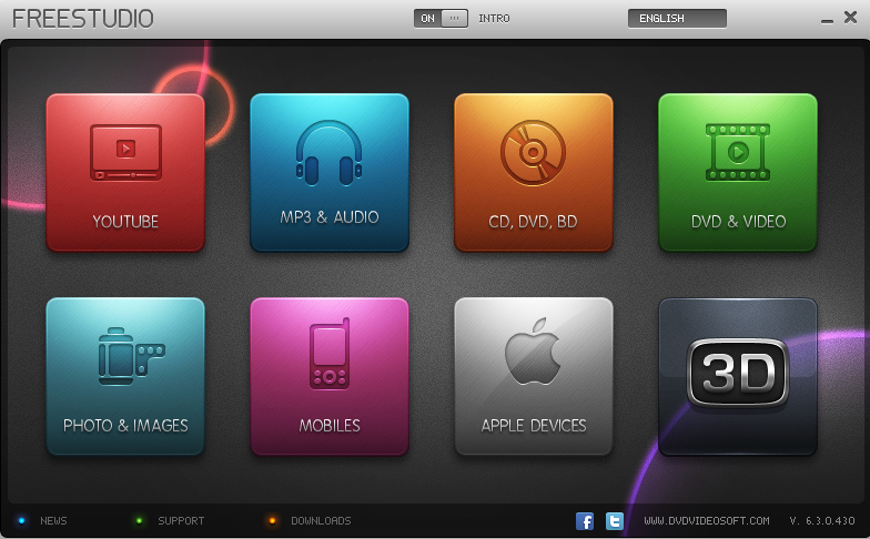 Free Studio , برنامج , داونلود , يحتوي , على , أكثر . من , برنامج . روابط , اليوتيوب , الدايلموشن , القص , تحويل , الفلاش , الى , صيغة , MP3
