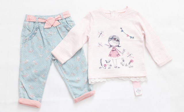 baby girl clothing from asda and primark january 2016 9-12 months