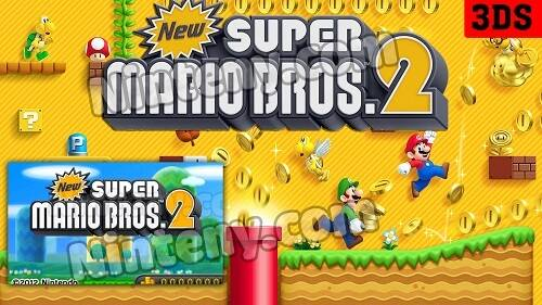 New Super Mario Bros. 2 3DS Decrypted